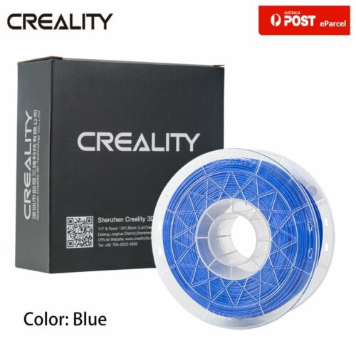 AU Creality Blue 3D Printer Filament 1.75mm 1KG 2.2lb PLA For Ender 5 Plus/3 Pro