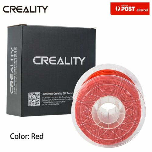 AU Creality 3D Printer Filament 1.75mm 1KG PLA For Ender 3 Pro CR-10 V2 5 Plus