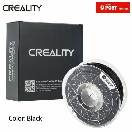 AU Creality 3D Printer Ender 3 Pro 5 Plus 1.75mm 1KG PLA Printer Filament Black