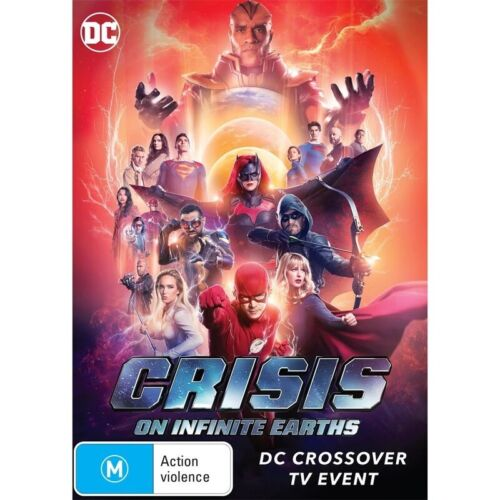 BRAND NEW Crisis On Infinite Earths (DVD, 2020) *PREORDER R4 DC Crossover