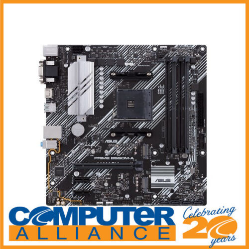 ASUS AM4 MicroATX PRIME B550M-A Motherboard