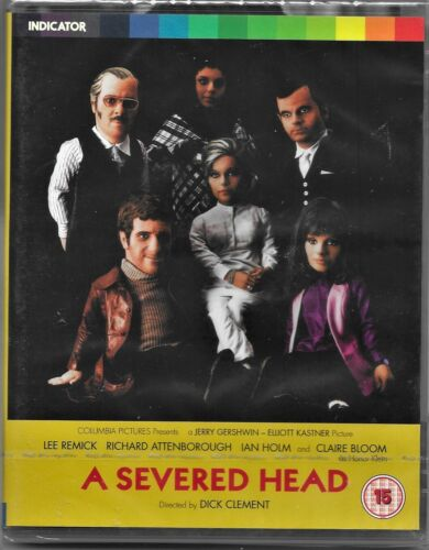 Dick Clement's: A Severed Head - Ltd.Ed. Blu Ray All Regions Free Post