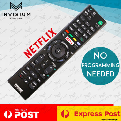 Replacement SONY BRAVIA TV NETFLIX Universal Remote Control LCD LED Series HD 4K