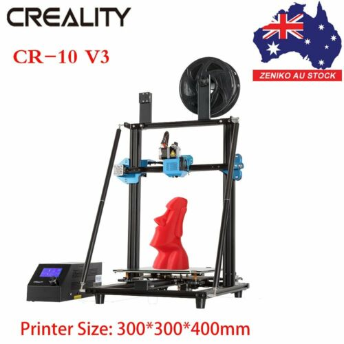 AU Creality CR-10 V3 3D Printer 300*300*400mm Silent Mainboard Resume Printing