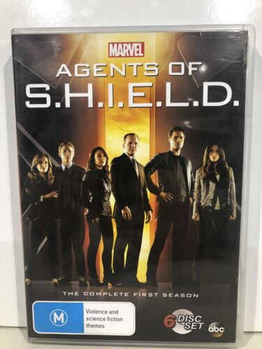 Agents Of S.H.I.E.L.D - The Complete First Season (DVD, R4) MARVEL