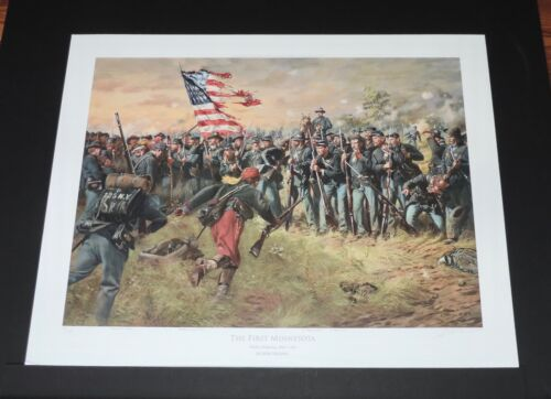 Don Troiani - The First Minnesota - Collectible Civil War Print - Mint Condition