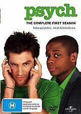 PSYCH The Complete First Season 1 (4 Disc DVD) - Region 4