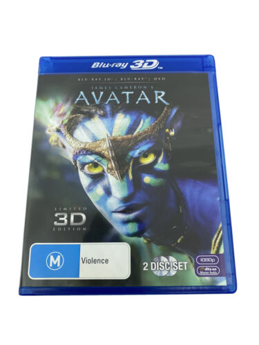 Avatar Limited 3D Edition 2-Disc Blu Ray