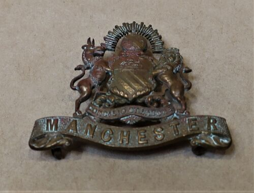 ANTIQUE WWI MILITARY BADGE MANCHESTER1914 - 1918 (WWI) - 13962