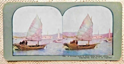 FIVE (5) VINTAGE STEREOVIEW PHOTOGRAPHS - CHINA