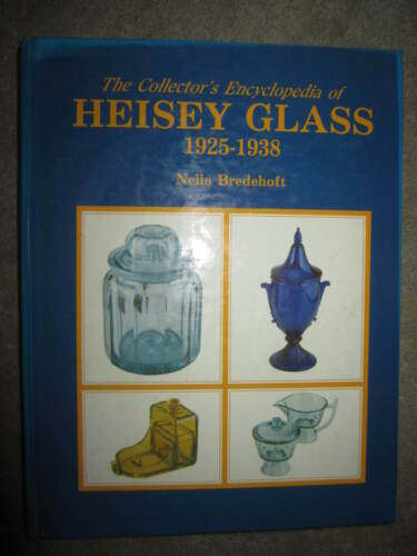 Vtg HC, Collector's Encyclopedia of Heisey Glass 1925-38 by Neila Bredehoft 1986