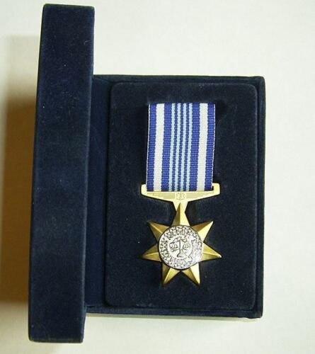 AUSTRALIAN SECURITY MEDAL MOUNTED (ready to wear) IN PRESENTATION BOXModern, Current - 36066