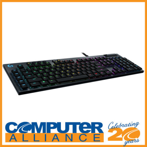 Logitech G815 Lightsync Wired RGB Mechanical Gaming Tactile Keyboard 920-009222