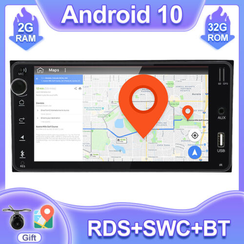 7''Android 10 Stereo Car GPS HeadUnit Navi For Toyota Hilux Land Corolla Camry