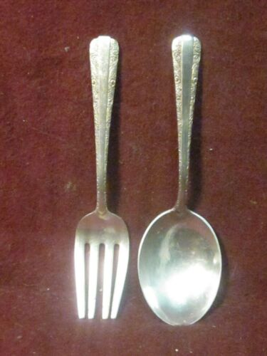 """Sterling Towle  Candlelight BABY SET 4 1/4"""" 35g  No Mono"""