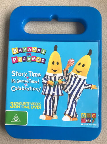 Bananas in Pyjamas 3 in 1 STORY TIME + IT'S GAMES TIME! + CELEBRATION!  DVD R4