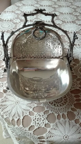 Sterling Silver Muffin/Scone serving dish