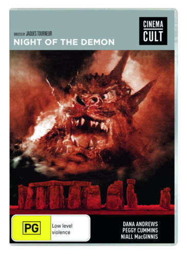 BRAND NEW Night Of The Demon (DVD, 1957) *PREORDER R4 Movie Jacques Tourneur