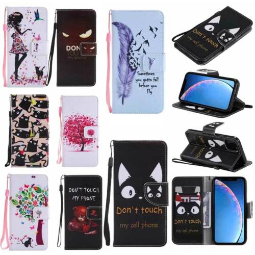 Leather Wallet Case Flip Cover Stand Card Slot For Iphone 12 11 Pro Max Se 2020