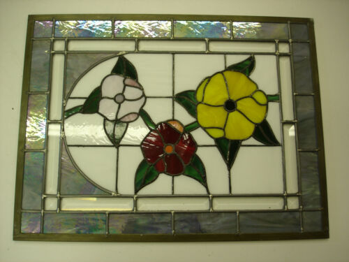 1 Pcs Beautiful Stained glass window Huge Made By A Master Highest Quality (5)