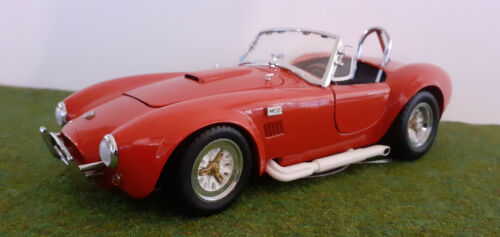 SHELBY COBRA 427 S/C cabriolet rouge red 1/18 KYOSHO 7006 voiture miniature coll