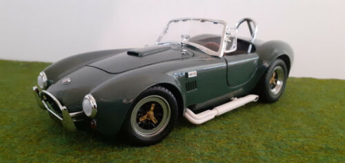 SHELBY COBRA 427 S/C cabriolet vert 1/18 KYOSHO 7006G voiture miniature collecti