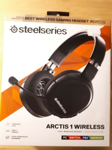 Steelseries Arctis 1 Wireless Gaming Headset PC Switch PS4 Android