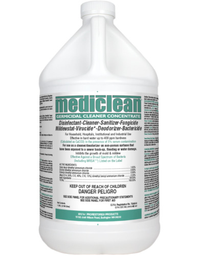 Mediclean Germicidal Cleaner - Antimicrobial Disinfectant Cleaner Sanitizer