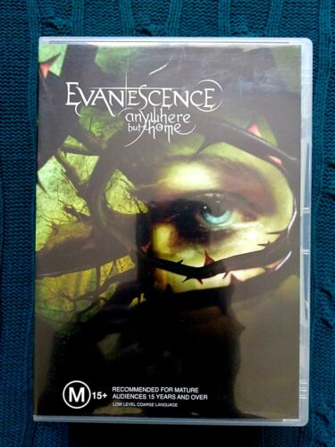 EVANESCENCE - ANYWHERE BUT HOME – DVD, 2-DISC SET- R-4- LIKE NEW- FREE POSTAGE