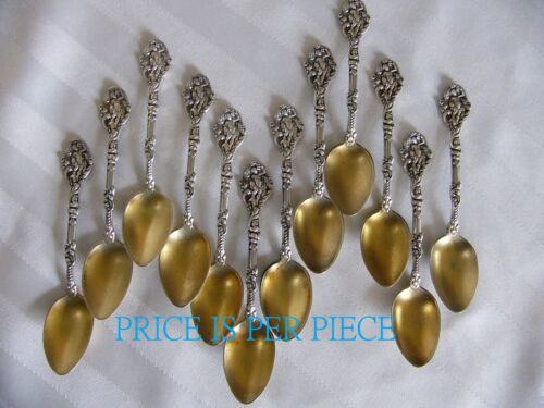 "(ONE) VERSAILLES Sterling DEMITASSE SPOON by Gorham  4 3/8""  No mono  11 avail."