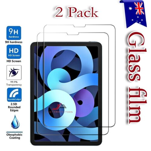 2 Pack Tempered Glass Screen Protector For Apple iPad Air 4 10.9 4th Generation