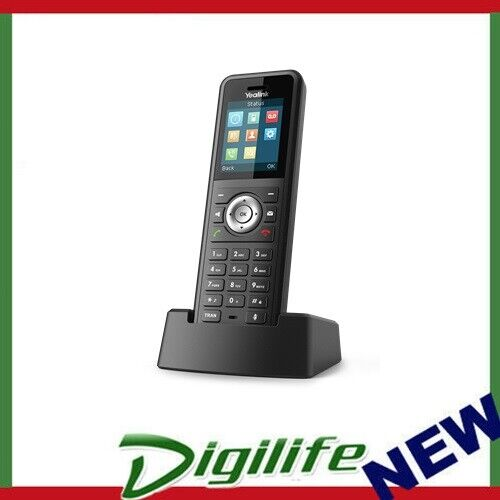 Yealink W59R Rugged DECT Handset Only, IP67, HD Audio, Bluetooth, Alarm Function