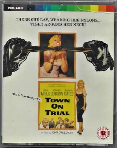 Town on Trial - Limited Edition Blu Ray All Regions Free Post