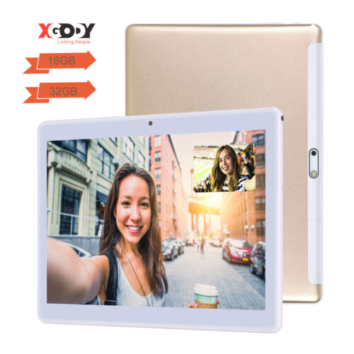 "10.1"" Inch Tablet PC Android Quad Core 16GB/32GB HD WIFI Dual Camera Phablet IPS"