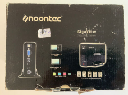 Noontec Gigaview 3.5 HDD Media Player 750Gb W/ Seagate Barracuda 7200 Drive