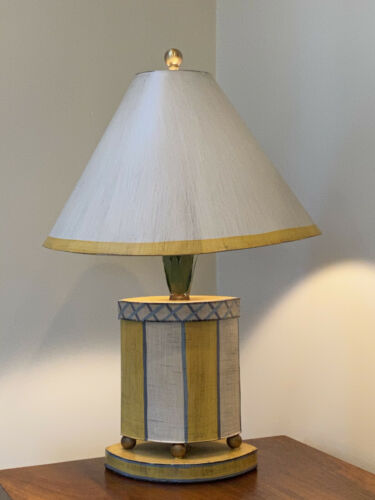 Hand-Painted Tole Table Lamp