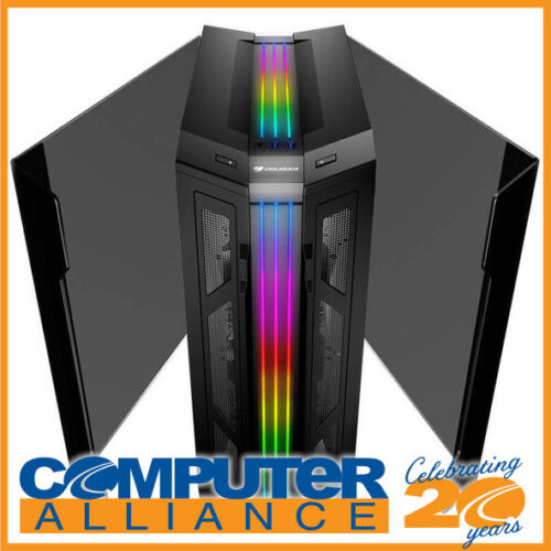 Cougar ATX GEMINI-T PRO ARGB Mid Tower Tempered Glass-Wings Gaming Case