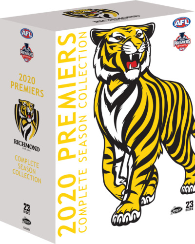BRAND NEW AFL Premiers 2020 : Richmond Tigers Complete Season DVD Collection