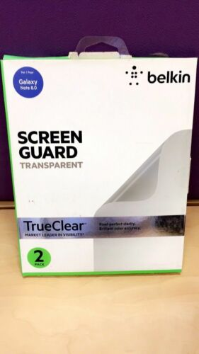 "Belkin SCREEN GUARD TRANSPARENT For  Galaxy Note 8.0"" 2 PACK"