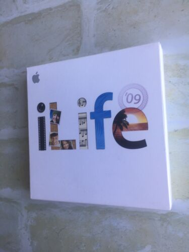 Apple- MB966Z/A iLife '09 9.0 MacOS - Mac DVD Comes with iWork 09 Trial (sealed)