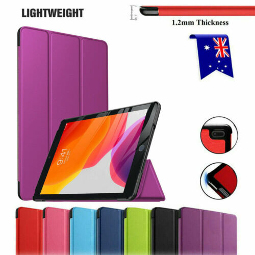 For Apple iPad 8th 7th 6th 5th Gen Air 4 3 Pro Flip Leather Smart Case Cover