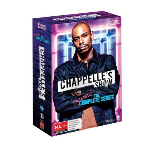 CHAPPELLE'S SHOW: UNCENSORED COMPLETE SERIES BOX SET NEW & SEALED
