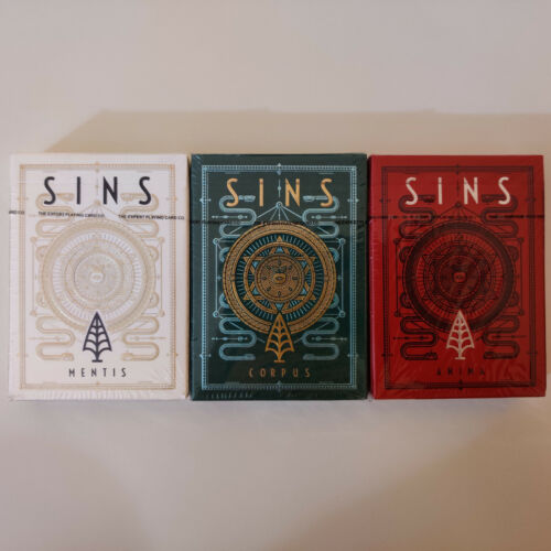 3 Sins (Mentis, Corpus & Anima) by Thirdway Industries - Limited, Rare