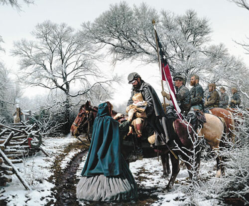 """""""Christmas Blessing"""" - by John Paul Strain -  A.P. Signed Studio Canvas Giclée"""