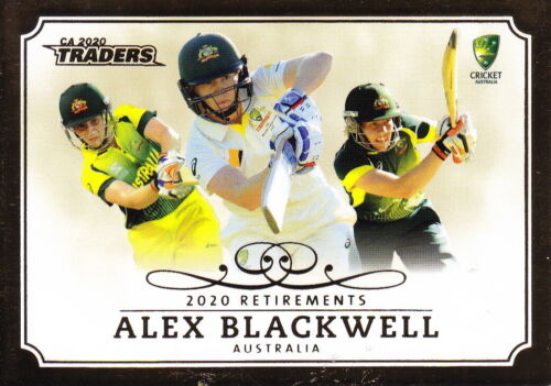 CRICKET 2020/21 - CA Traders Alex Blackwell 'Retirements' R2/3 Case CardCricket Cards - 25579