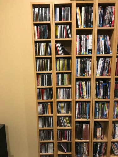 Preowned various genre DVDs & Blu-rays (DVD-07)