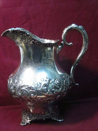 "Baltimore Sterling Silver Co. Water PITCHER 10"" x 9""  1056g  Mono  AIC?"