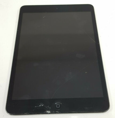 """Apple iPad Mini A1432 16GB 7.9"""" 5MP SOLD AS IS/ Activation locked/ Crack screen"""