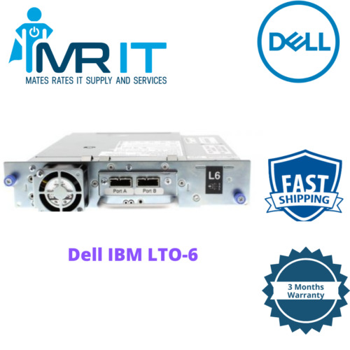 Dell IBM LTO-6 Half Height DP SAS Tape Drive TKC16 12X4407 35P1980 LTO6 HH SAS