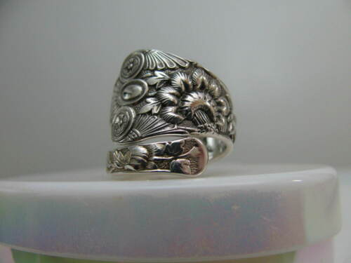 Gorham 1880 Sterling Silver spoon RING s 6 CLUNY  Jewelry # 8001